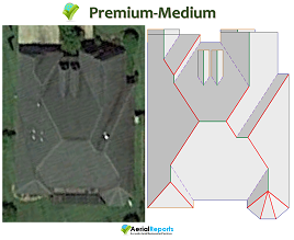 Premium Report – MEDIUM  (Roof Area up to 50 Squares)