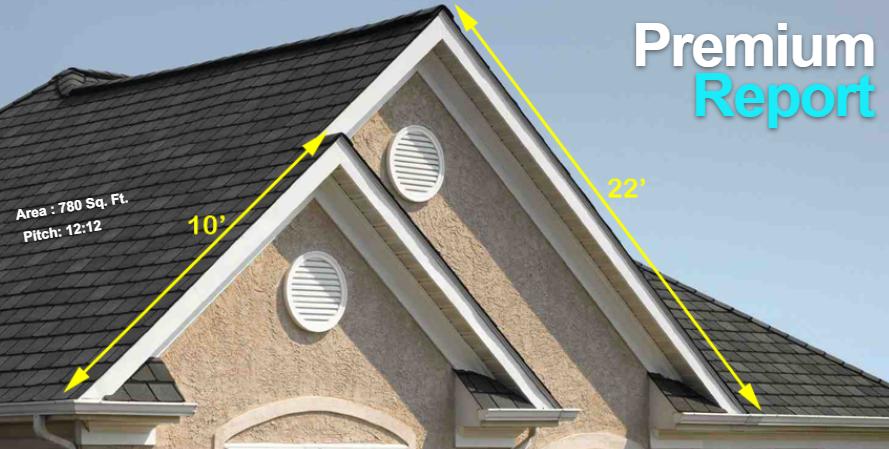 Premium Roof Measurement Report