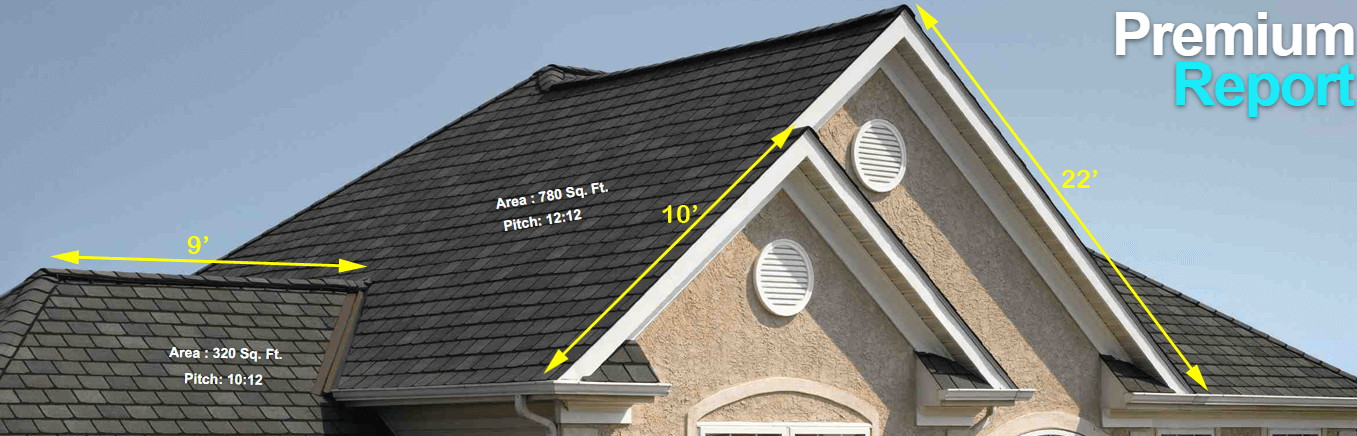 Premium Roof Measurement Report